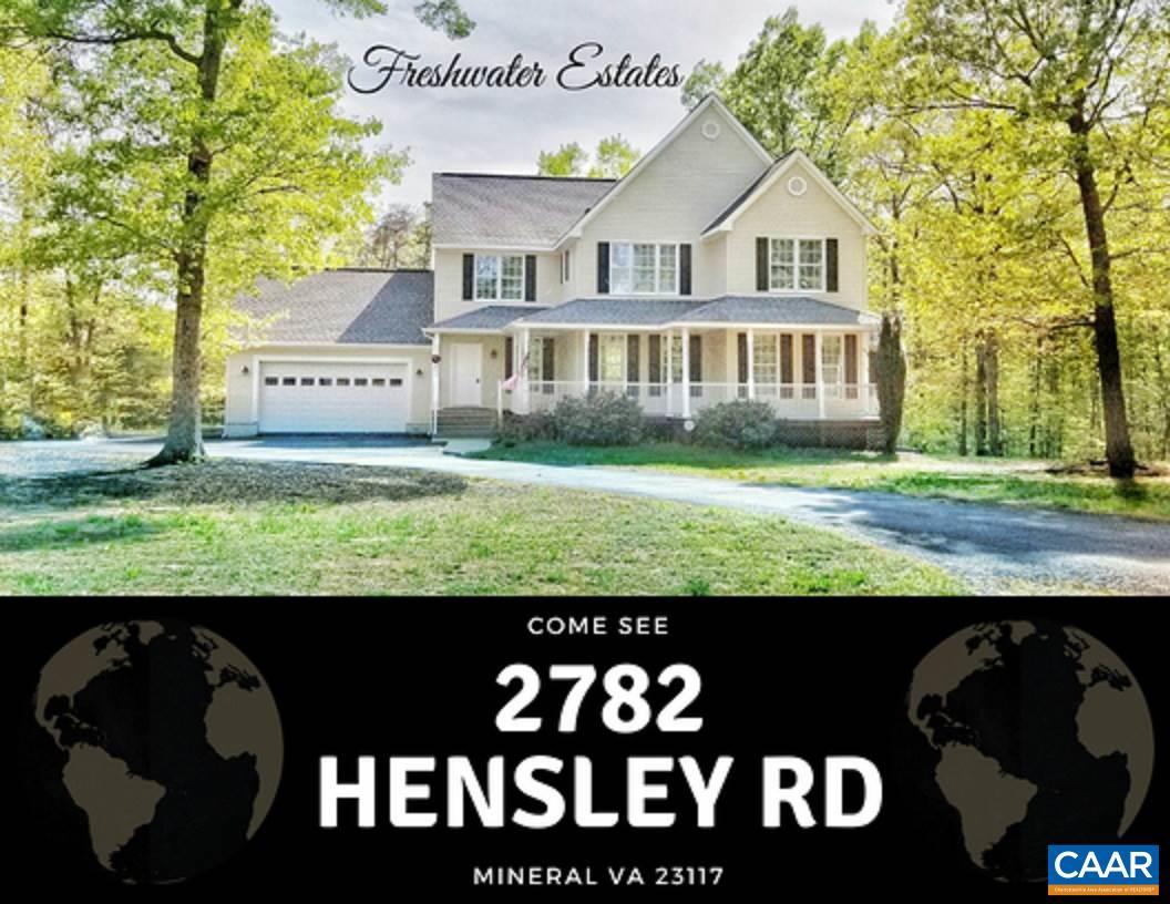 2782 HENSLEY RD, MINERAL, VA 23117