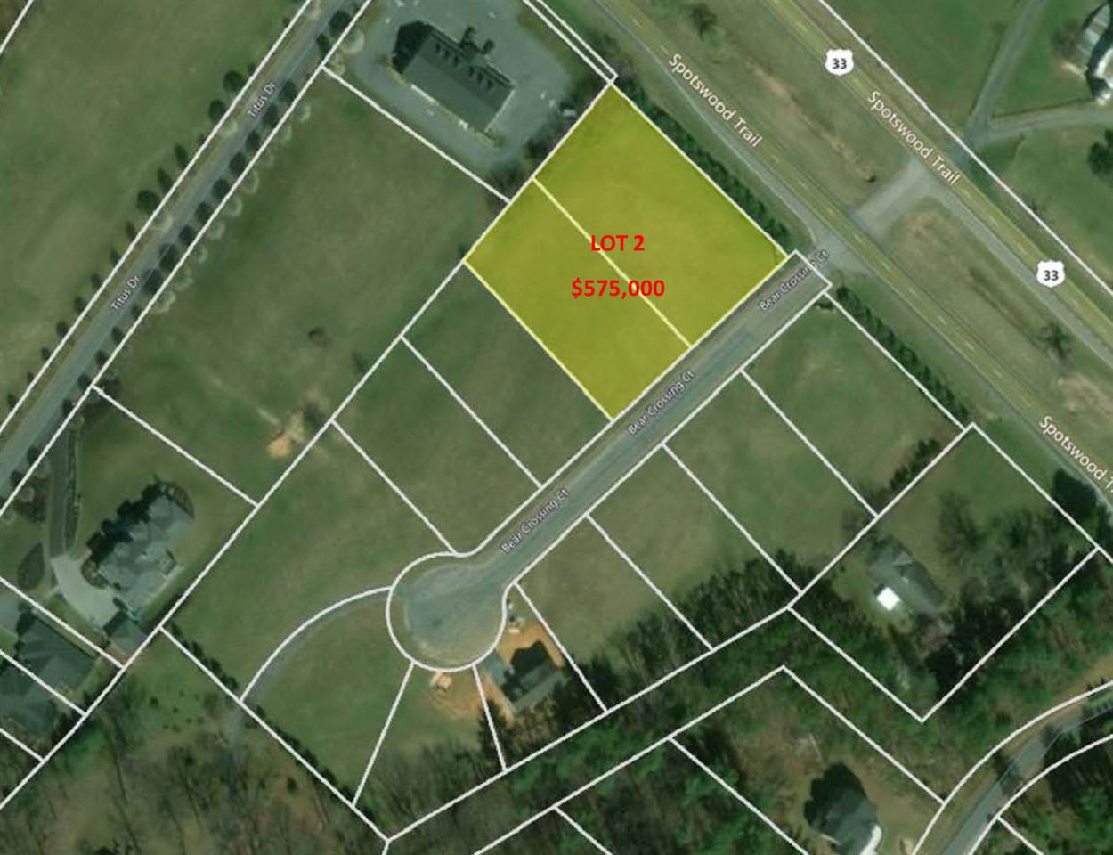 Lot 11-12 BEAR CROSSING CT, PENN LAIRD, VA 22846