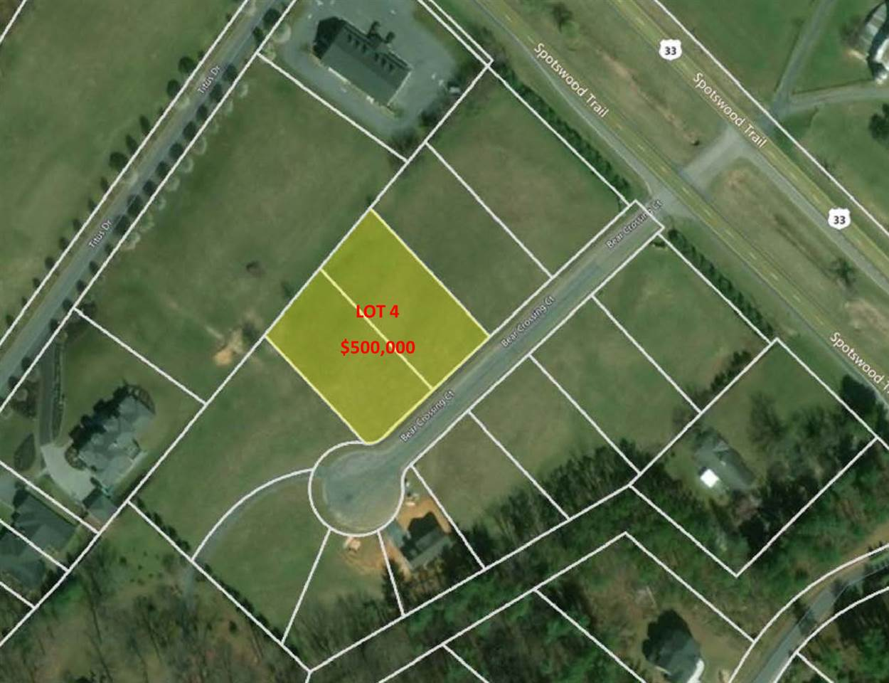 Lot 9-10 BEAR CROSSING CT, PENN LAIRD, VA 22846