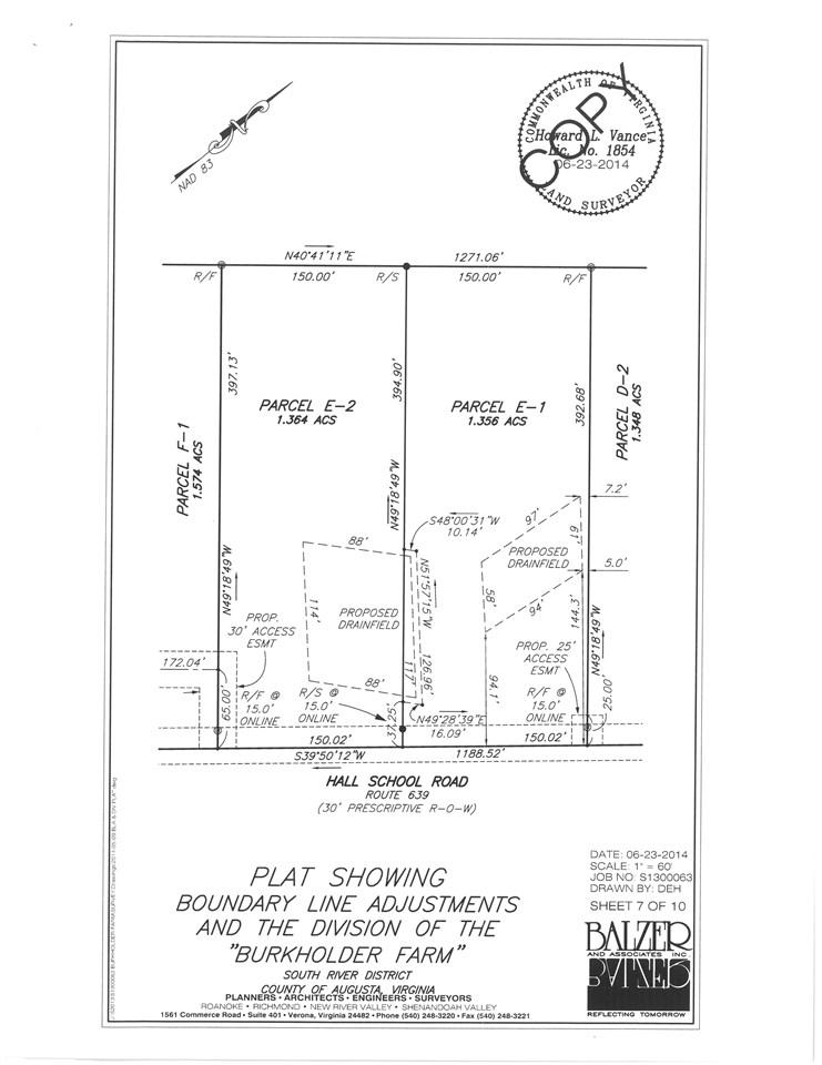 TBD E1 HALL SCHOOL RD, WAYNESBORO, VA 22980