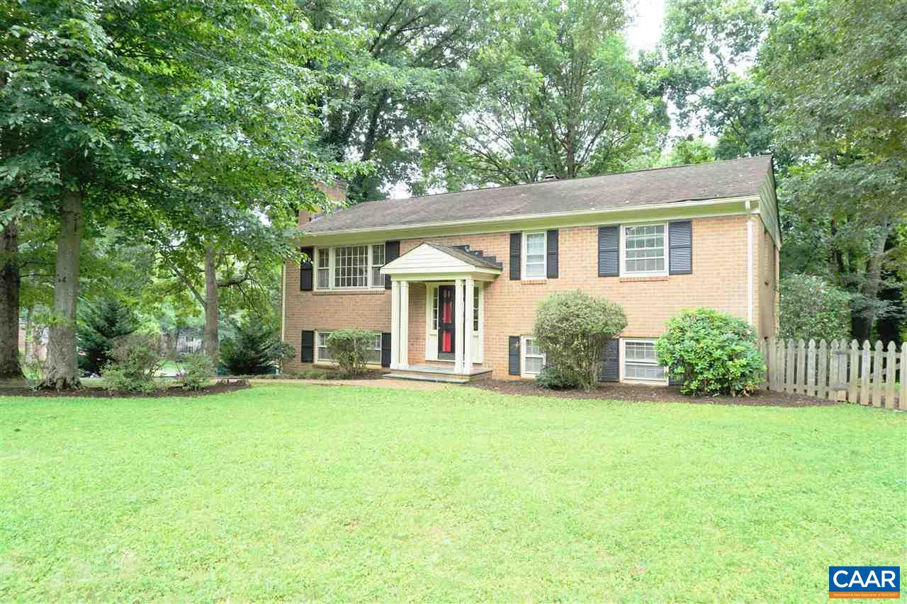Don't miss this lovely mostly Brick home, on a corner lot,  with a great location close to shopping.  You will like 3 bathrooms, Living, Dining area, a  big master bedroom and the huge lower level. New countertops in the kitchen! Wood floors in many rooms, Fireplace, rear deck, sun room and more. Ready to move in!