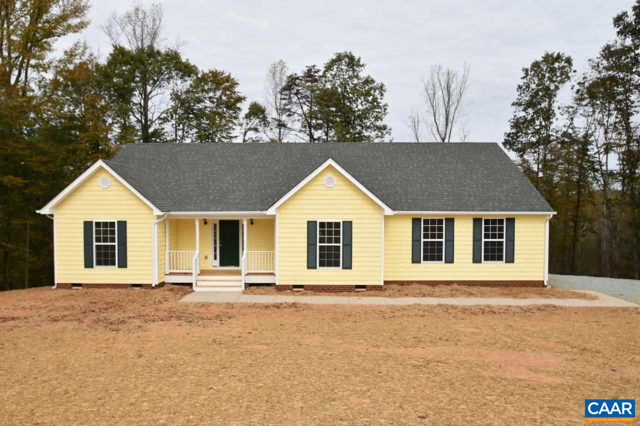 Looking for a Large Open Lot? Briery Creek Village home sites are 3.0 to 6.0 acres with gorgeous pastoral views and rolling uplands, located minutes from the Town of Scottsville and 30 minutes from Charlottesville. DSL High Speed Internet is Available! Similar to Photos, the Nathan in the photo was customized for a happy buyer. The base plan features 3 BR, 2 Baths, 2-Car Garage with Great Room, Dining Room, Open Kitchen, Breakfast Nook. Options/upgrades can be added to your taste! Other floor plans and lots available. Contact agent for details.
