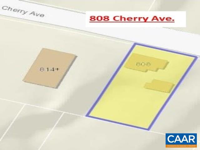 808 CHERRY AVE, CHARLOTTESVILLE, VA 22903