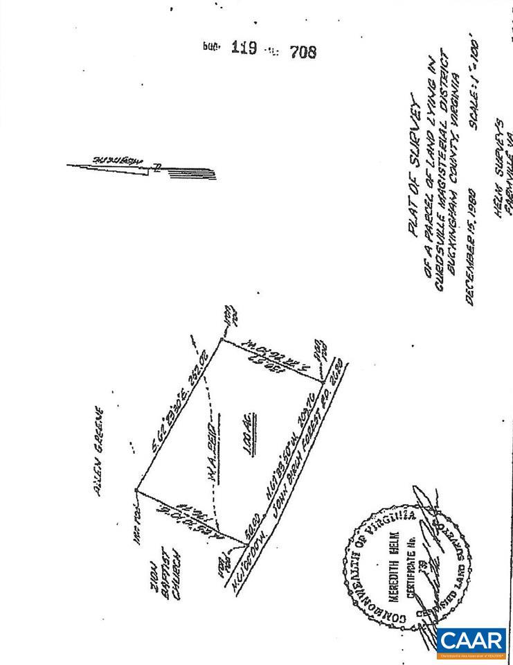 SW TRENTS MILL RD, DILLWYN, VA 23936