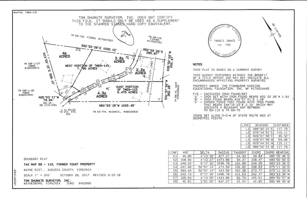tbd CALF MOUNTAIN RD, WAYNESBORO, VA 22980