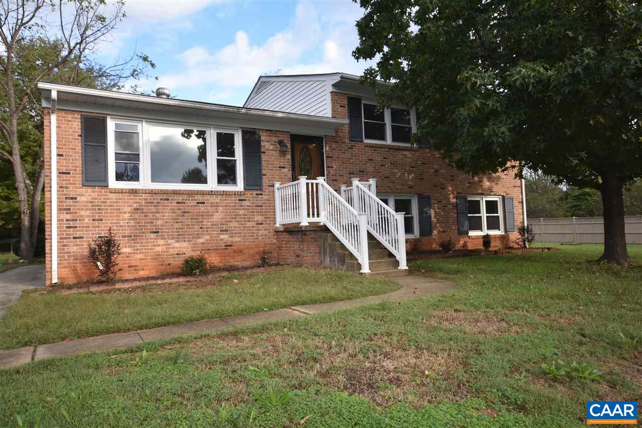 Remodeled home in Earlysville Heights. Updates include: refinished hardwood floors, fresh paint, updated kitchen with granite and new stainless steel appliances, new HVAC and more.  Rec room with a wood burning fireplace.  Large screened porch on the rear of the house.  Great location near the airport, NGIC and Hollymead Town Center.