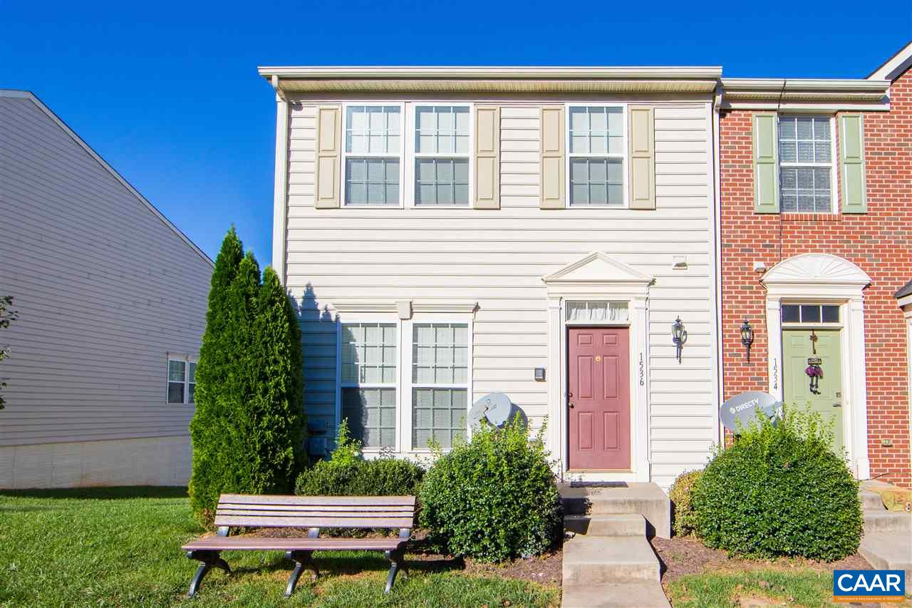 Spacious three-story townhome in the sought-after Pavilions at Pantops neighborhood, just minutes from shops, restaurants and Martha Jefferson Hospital. Step outside to visit your neighborhood playgrounds and tennis courts. Only a short drive to the 250 bypass and interstate 64. Light-filled main level features open plan kitchen and dining room. Upstairs, the big master bedroom features spacious walk-in closet and en suite bathroom with dual vanity, soaking tub and separate glass door shower. 2 additional bedrooms and a full bathroom upstairs. Sunny, finished walkout basement with another full bathroom, a study, a spacious second living room and laundry room.