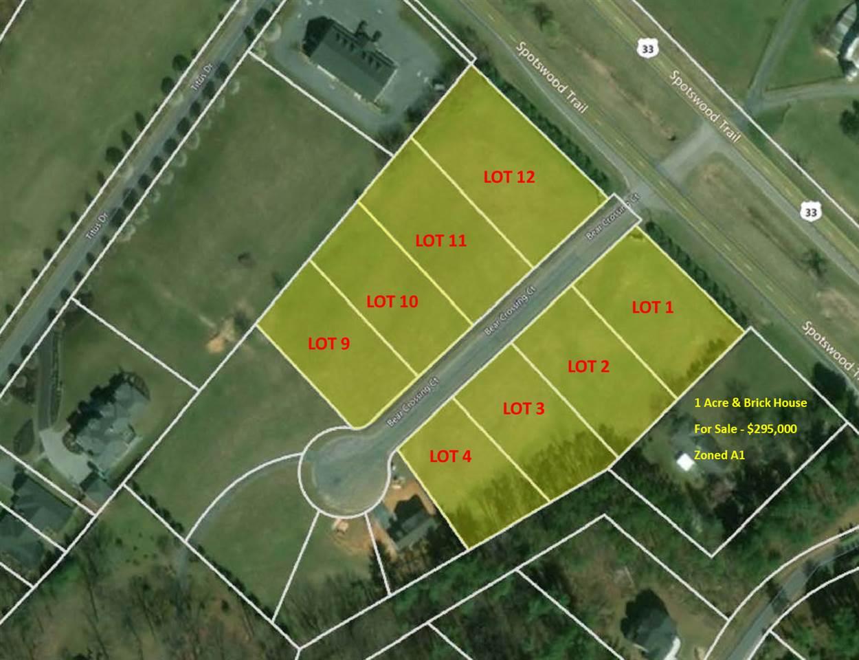 Lot 1 BEAR CROSSING CT, PENN LAIRD, VA 22846