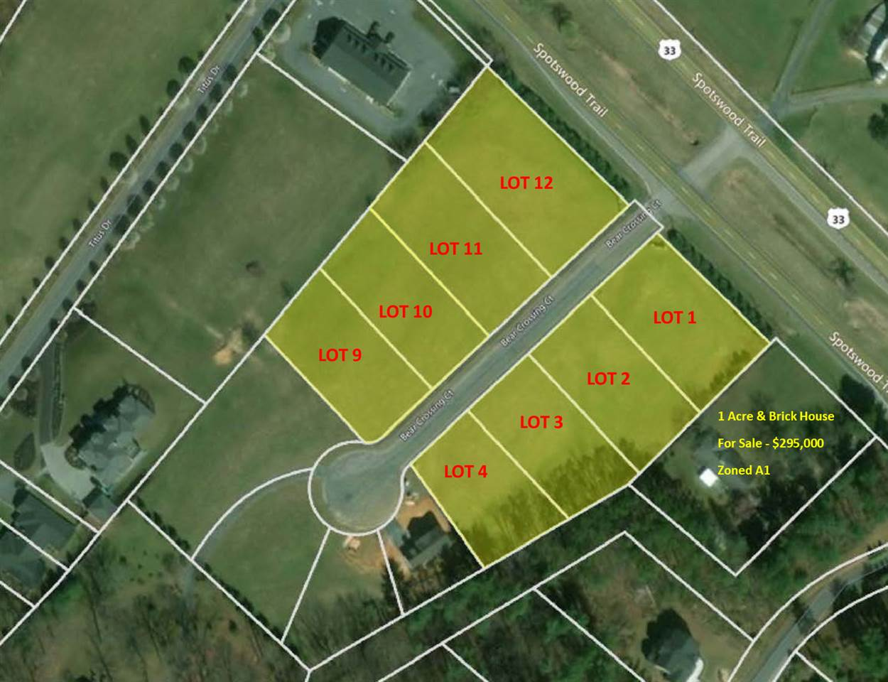 Lot 9 BEAR CROSSING CT, PENN LAIRD, VA 22846