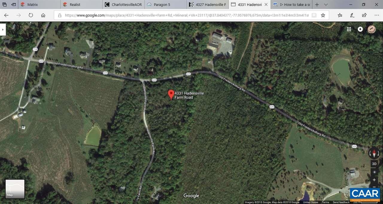 4331 HADENSVILLE FARM RD, MINERAL, VA 23117