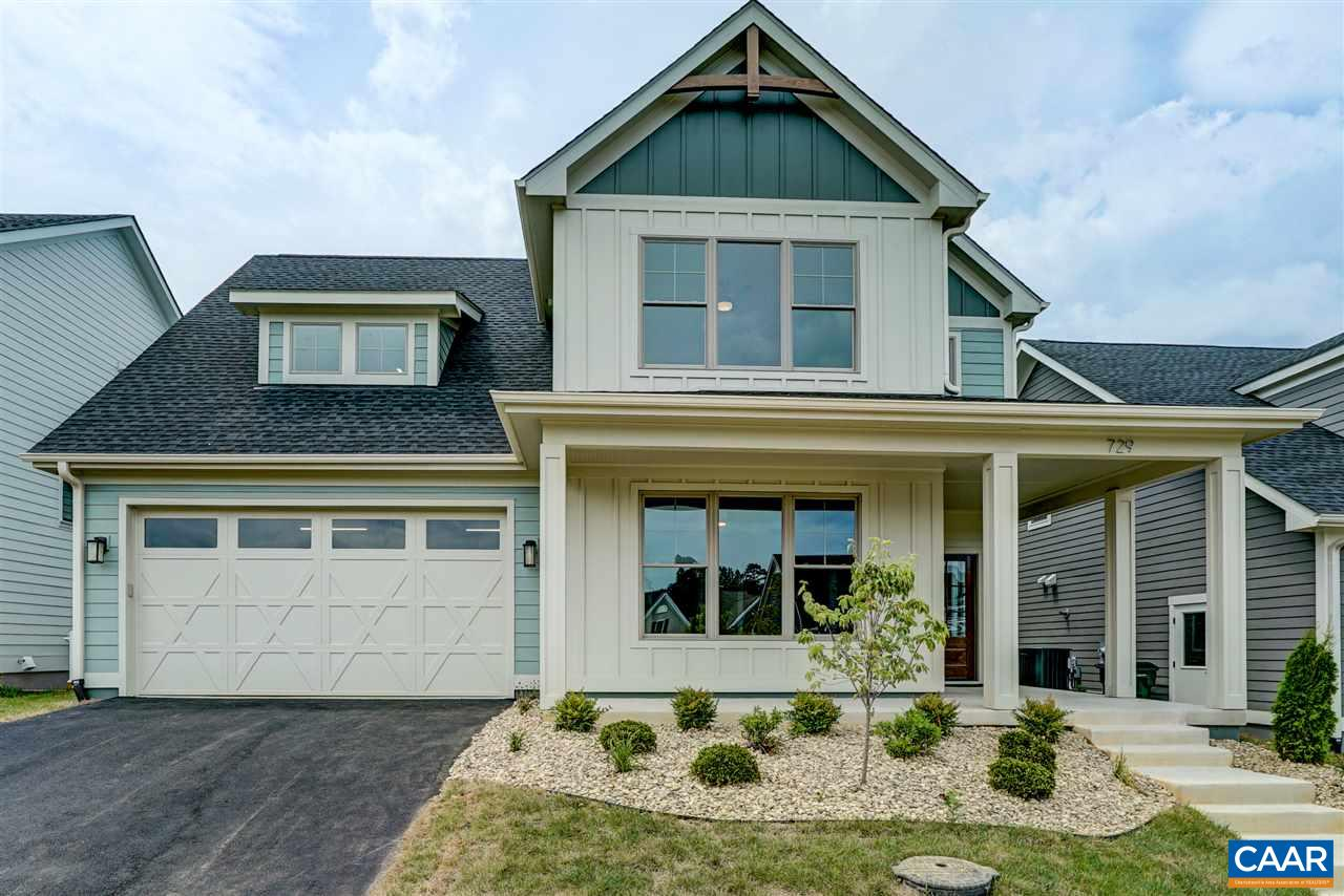 Custom home with wonderful floor plan and high end finishes throughout.