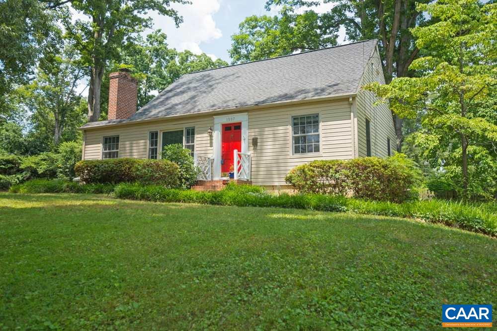 Reduced to Below Assessment.Wonderful , quiet city location in Veneable School District. Great yard and rear deck. Lifetime waterproofing warranty now in place.  Comfortable 4 bedroom , 2  full bath Cape Cod floor plan with formal dining room, eat in kitchen, Living room and with fireplace, 2 bedrooms upstairs, 2 1st floor bedrooms ,rec &  utility rooms downstairs.  2 year old furnace , insulated windows, wood floors , new foam  insulation mean low energy costs, warranty on new total foundation waterproofing. Move in. Walk to UVA & close to downtow, Active with 72 hour kickout