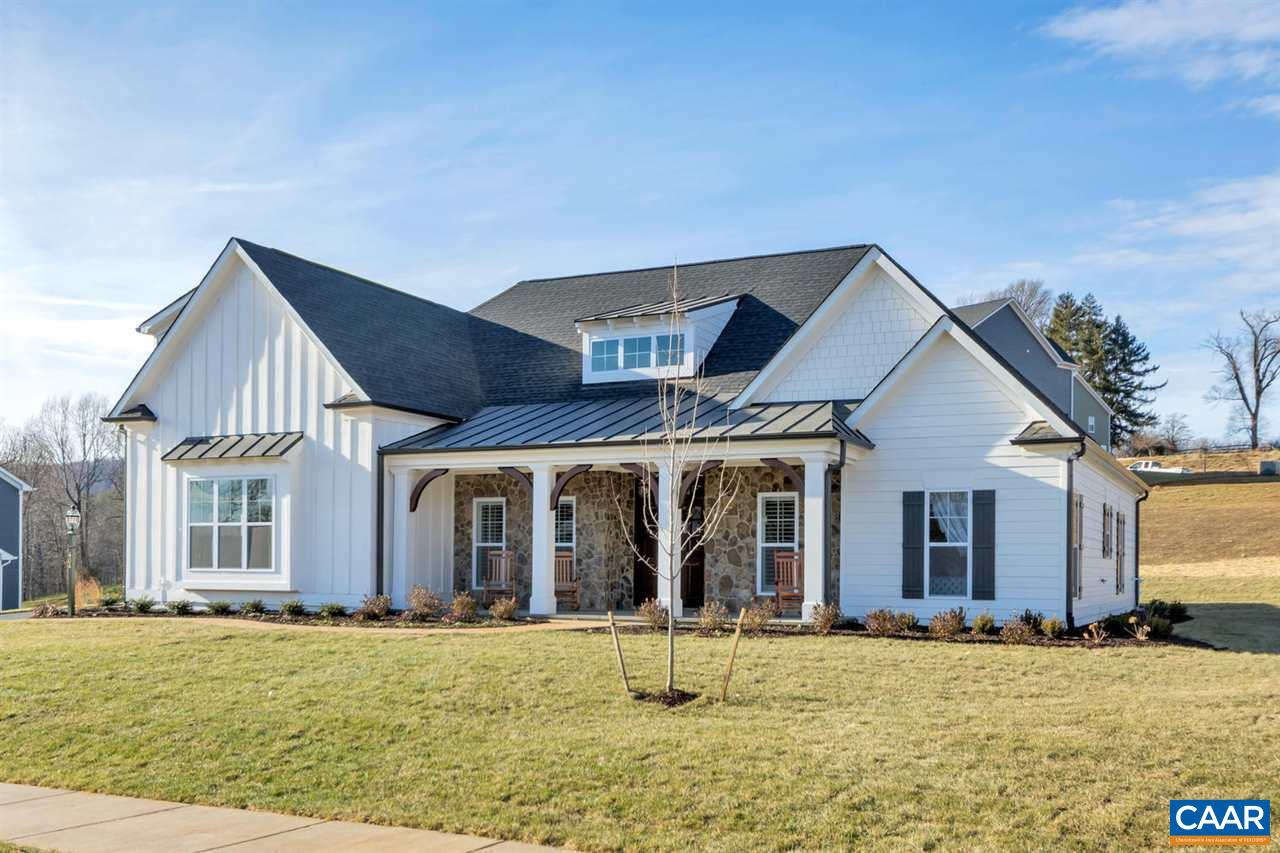 """New Construction Home- This One Level Living Newport is to be built in Westlake at Foothill Crossing.  Finished bonus room/bath included! The community offers half acre homesites near downtown Crozet with Mountain Views.  This homesite offers a large backyard. Quality built with 2x6 exterior walls, custom mahogany front door, R-19 insulation, and 5"""" plank hardwood.  Kitchen includes painted maple cabinetry (white, grey, etc shaker style), granite countertops (also in owner's suite), and much more. This is one of many floor plans to choose from.  Want to make a change to the plans?  On staff draftsmen can adjust the plans to make the home just right for each buyer. Also available with a walkout basement. Photos are of model home."""