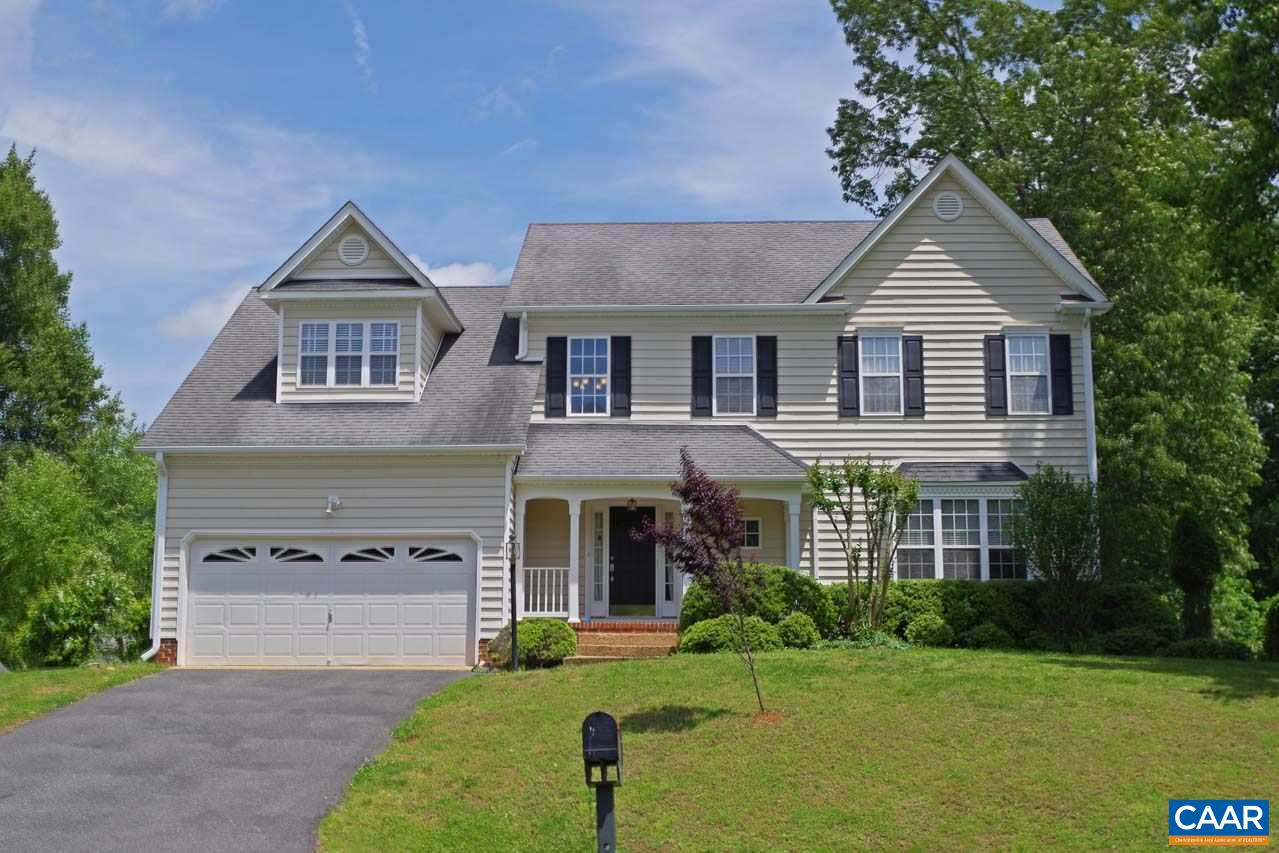 This well-maintained Dunlora home offers plenty of space for the whole family with 5 bedrooms & 3.5 baths! The main level boasts the eat-in kitchen w/tile backsplash & granite countertops, dining room w/wainscoting & chair molding, family room w/gas fireplace & a half bath. Upstairs includes the master suite w/vaulted ceilings, whirlpool tub & walk-in closet, 3 additional bedrooms & full bath. The finished basement features the 5th bedroom, rec room & full bath, great for guests. Outdoor spaces include covered front porch, rear deck, patio & a fenced-in back yard. The 2-car garage provides plenty of extra storage! Dunlora offers a community pool, tennis, club house, exercise room & walking trails!