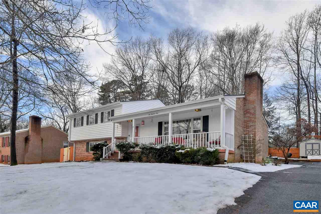 Open Sunday, March 3rd, 1pm-3pm.  Don't miss this picture perfect single family home in sought after Woodbrook.  Pleasantly situated on an elevated lot, the home features 4 beds, 3 full baths a dining room, renovated kitchen, recent roof, painting, flooring, windows & too many other upgrades & improvements to list here.  Wonderful, functional floorplan with 3 bedrooms upstairs & a 4th in the walkout basement. The woodburning fireplace in the living room will keep winters cozy & the large rear sunroom with new flooring is ideal for any season.  Large family room in the basement & an abundance of space throughout.  Outside is a fully fenced back yard with decking & entertaining areas, a detached 2 car garage, paved drive and nice front porch.