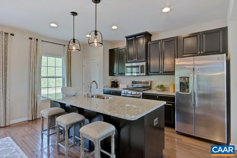 LAST CHANCE TO MOVE BEFORE 2019 SCHOOL YEAR BEGINS. Garage townhomes released for LATE SUMMER MOVE-IN at Riverwood, featuring Cville's lowest-priced new townhomes. The Mozart features a 1-car garage, open kitchen, oversized island, spacious owner's suite with private bath & walk-in closet, bedroom-level laundry, maple cabinetry, GE appliances, and a FREE FINISHED BASEMENT. Building your dream home has never been easier due to professionally designed interior options to choose from that have been preselected by an interior designer. Every new home is tested, inspected & HERS® scored by a 3rd party energy consultant & is inspected for quality by an independent 3rd party inspector. Purchase by 3/31/19 to receive $4,000 towards closing costs!*