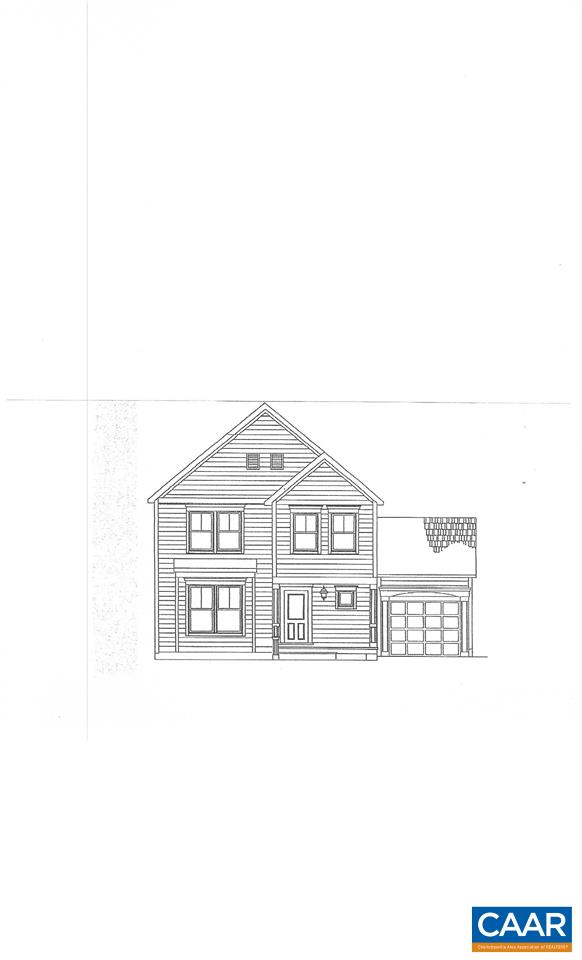 Wonderful home under construction .  The custom features of the home are arched doorway with bookcases, walk in pantry, custom cabinets, large kitchen island, hand laid hardwood floors, tile, gas fireplace, custom designed walk in closet, Pella attached garage, extra room in basement, extra cabinetry in basement and only steps to UVA and city bus line to downtown.  HOMEOWNERS' FEES INCLUDES GRASS CUTTING IN THE YARD.  The real estate taxes have not been established for this home.