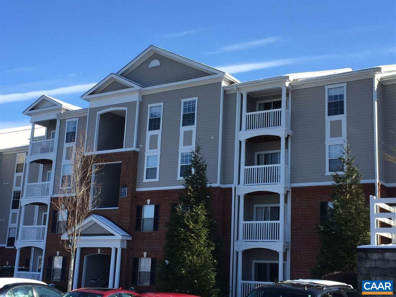 Very well maintained 3 bedroom and 3 bathroom condo only 152.5k! Excellent investment property with a monthly rent of $1,545 and leases ending July 15th, 2019 - 2020. Only minutes from UVA, Wegmans, downtown, interstate 64 and more. Amenities include shuttle to UVA/PVCC, gated, large clubhouse, business center, meeting room, fitness center, game room, pool, basketball, volleyball, and car wash. HOA includes cable, water and sewer. Rents and values continuing to go up in Eagles Landing!