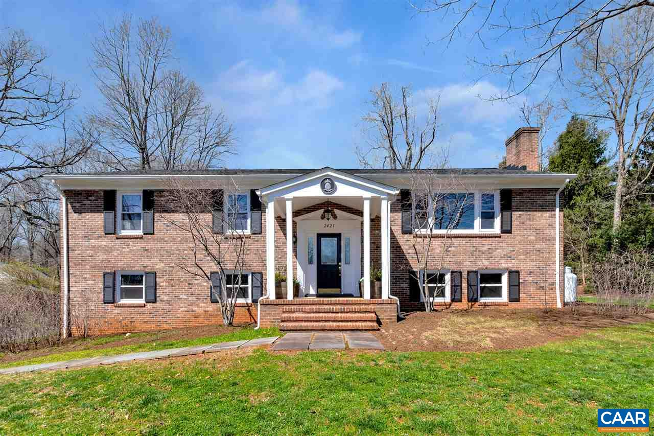 Meticulously maintained and well-loved home nestled in great location featuring lots of updates and improvements. With five bedrooms and three full bathrooms, there's room for the whole family. Spread out in the spacious family room with its gas log fireplace. Relax on the rear deck with its Red Cedar pergola, Black Locust planks, and custom wrought iron railing overlooking the level backyard landscaped with native plants, walks, and stairs. The completely remodeled kitchen features Maple cabinets, granite countertops, tile backsplash, and under-counter LED lights. With new windows throughout and a new roof installed in 2018 (good for 50 years), this one is move in ready!