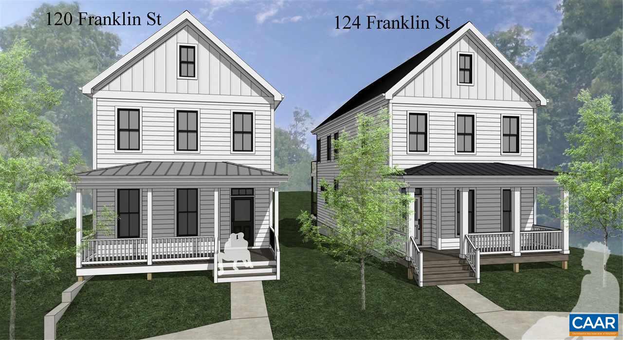 124 FRANKLIN ST, CHARLOTTESVILLE, VA 22902