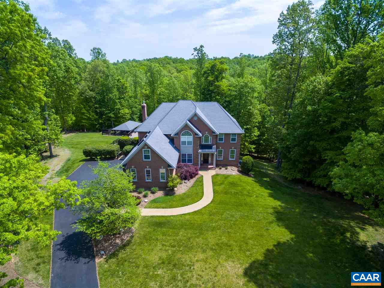 Extremely Private 5.81 Acres at the end of a cul-de-sac. Just 8 mins to Charlottesville in the Fox Hunt area of Western Albemarle County. Owner/Agent.