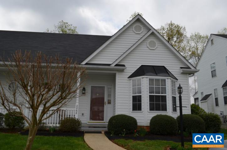 Great new listing in Northern Albemarle, convenient to GE, NGIC, Airport and DIA. This home is in great condition, Open, Light, and easy flow floorplan. Offering a First Floor Master with master bath, two closets and laundry. Vaulted ceiling in kitchen with eat in area, granite, lots of cabinets and pantry space. Powder room adjacent to kitchen. Upstairs you'll find 2 bedrooms, a full bath, storage room and loft area great for a home office, reading area or play area. Easy one floor living, hardwood floors, fireplace and a Large screened porch with additional storage complete this property. New roof, hot water heater, and Trane 15 Heat pump with bi-annual maintenance checks were installed in 2011.