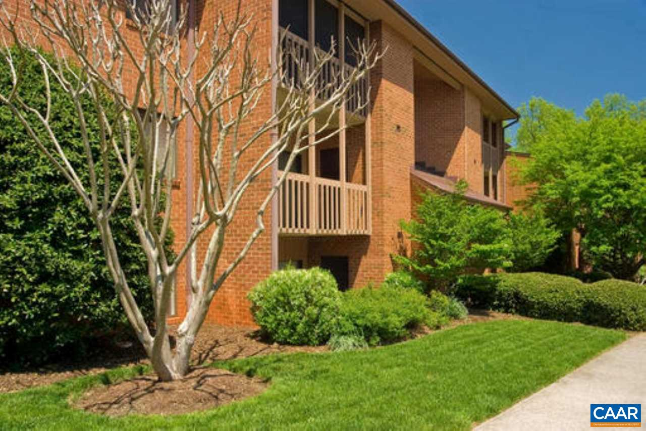 This spacious, freshly painted one bedroom, one bathroom condo with a solarium features a fireplace, balcony, and walk-in closet. This unit is located on the middle floor level. This 2nd floor unit with solarium is currently rented for $929 per month with a $100 utility fee through 7/31/2019.   Turtle Creek is a lovely condo community centrally located in Charlottesville, Virginia. Located off Route 29 and Hydraulic Road. It is conveniently located within walking distance to the brand new shops at Stonefield. You can't beat this location!
