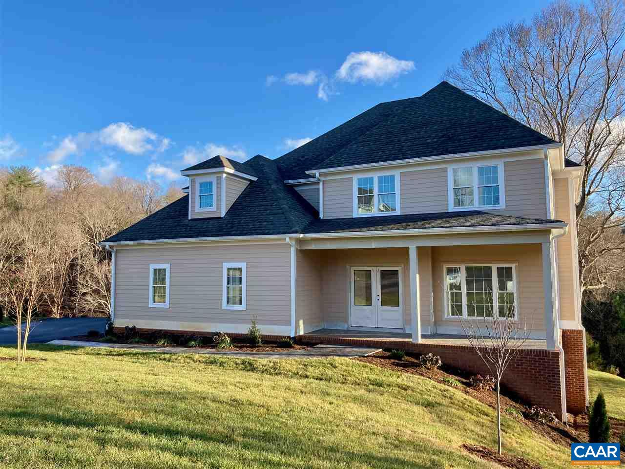 Another new offering in Foxchase Landing! New construction in Crozet, with *preserved trees* surrounding the neighborhood! 15 min to C'ville, 4 min to Western Albemarle schools, 2 min to Harris Teeter, and 7 min to one of Crozet's 3 coffee shops! This new custom home on a cul-de-sac offers large 1st floor master suite, wide open kitchen w/ breakfast area that opens to family room, open to loft, hardwood floors throughout main level, large deck & screened porch off the kitchen & great room. Upstairs offers three bedrooms & Jack and Jill bath and an open loft. Full walkout basement! Southern Classic is a custom home builder dedicated to ensuring a home that fits you. 2x6 Construction & Superior Wall foundation.