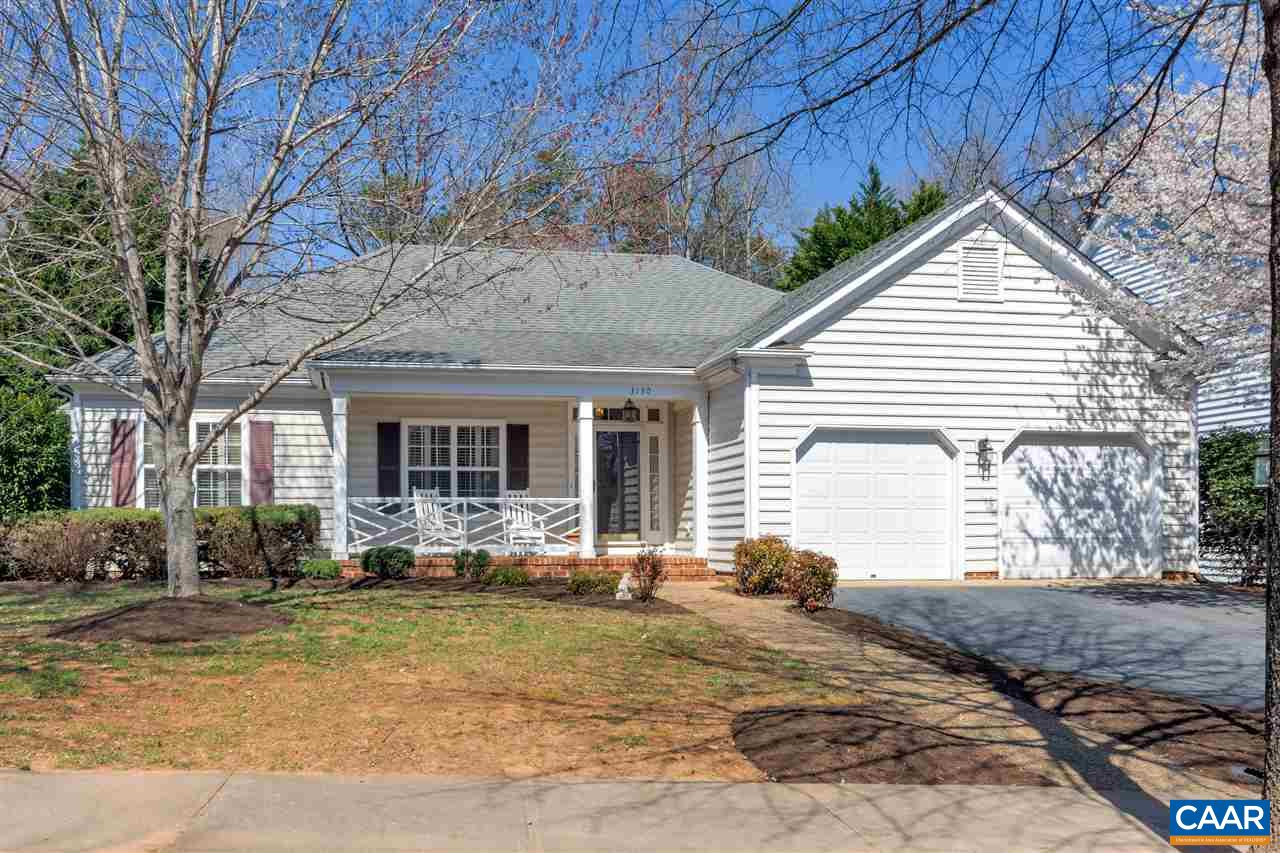 NO STAIRS! True 1 level living in this Wade built cottage in the Springridge neighborhood in Forest Lakes. Sun filled home has fabulous flow with just the right balance between open floor plan and private quiet spaces. Gorgeous hardwood floors run throughout main living areas. Plantation shutters, vaulted ceilings, covered rear deck, welcoming front porch, gas fireplace and 4 season sunroom are some of this homes highlights. Flat rear yard backs to wooded common area giving an added buffer between neighbors. 2 car on grade garage with pull down stairs to attic above. Enjoy the many amazing amenities Forest Lakes has to offer: tennis, pools, 24hr fitness, extensive trail system, parks, etc.. Convenient to 29 and shopping. OPEN SUN 4/7 1-3