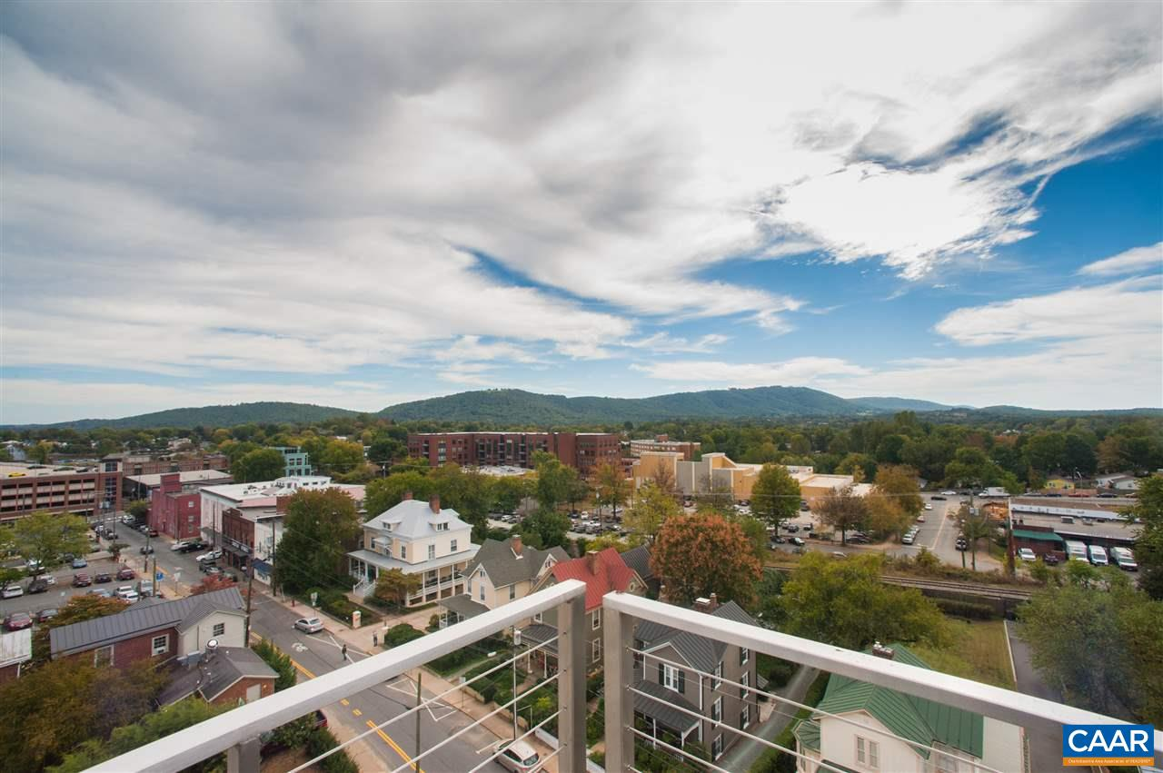 "See Downtown Charlottesville as it was meant to be seen, from the premium penthouse of The Residences at 218. Boasting southern facing 270 degree views, over 4,500 square feet of interior space, and unparalleled 2,082 square feet of outdoor living space on the terrace, suite 802 makes it easy to imagine your new Downtown luxury lifestyle. Offered in ""core and shell"" condition, the sky is the limit for the fully customizable design of this condo, but we highly recommend using the gorgeous views of the Downtown Mall and Blue Ridge Mountains as your inspiration. The terrace is even equipped to handle your rooftop pool. Bring your designer and make this unrivaled penthouse your new Downtown dream home."