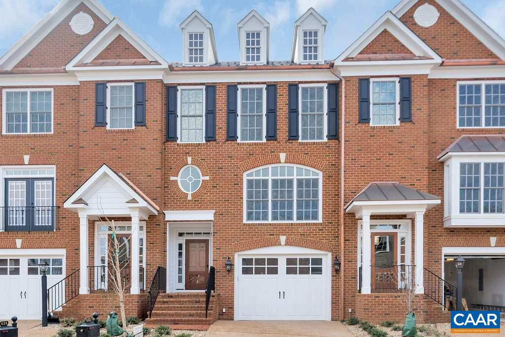 "Don't miss this unique opportunity to obtain a stately brick townhome featuring finest finish details in ""Kenridge"" including stone fireplace and shiplap. Live in the Middle of Everything - located minutes from UVA, Boars Head, Birdwood and Farmington Country Club. Only 5 townhome lots remain in ""Kenridge"" - Three-level living including an elevator (installed), formal and informal spaces plus generous room sizes, closet space, and garage. Gleaming interior bathed in natural light. Tile & cabinetry selections are top notch. Soapstone counters in Kitchen. Full appliance package plus a 55"" TV installed. Three-zone HVAC. Duel fuel on 1st & 2nd floors. H/P on 3rd floor. Overview of Cannon Properties (Builder), specs & floor plans attached."