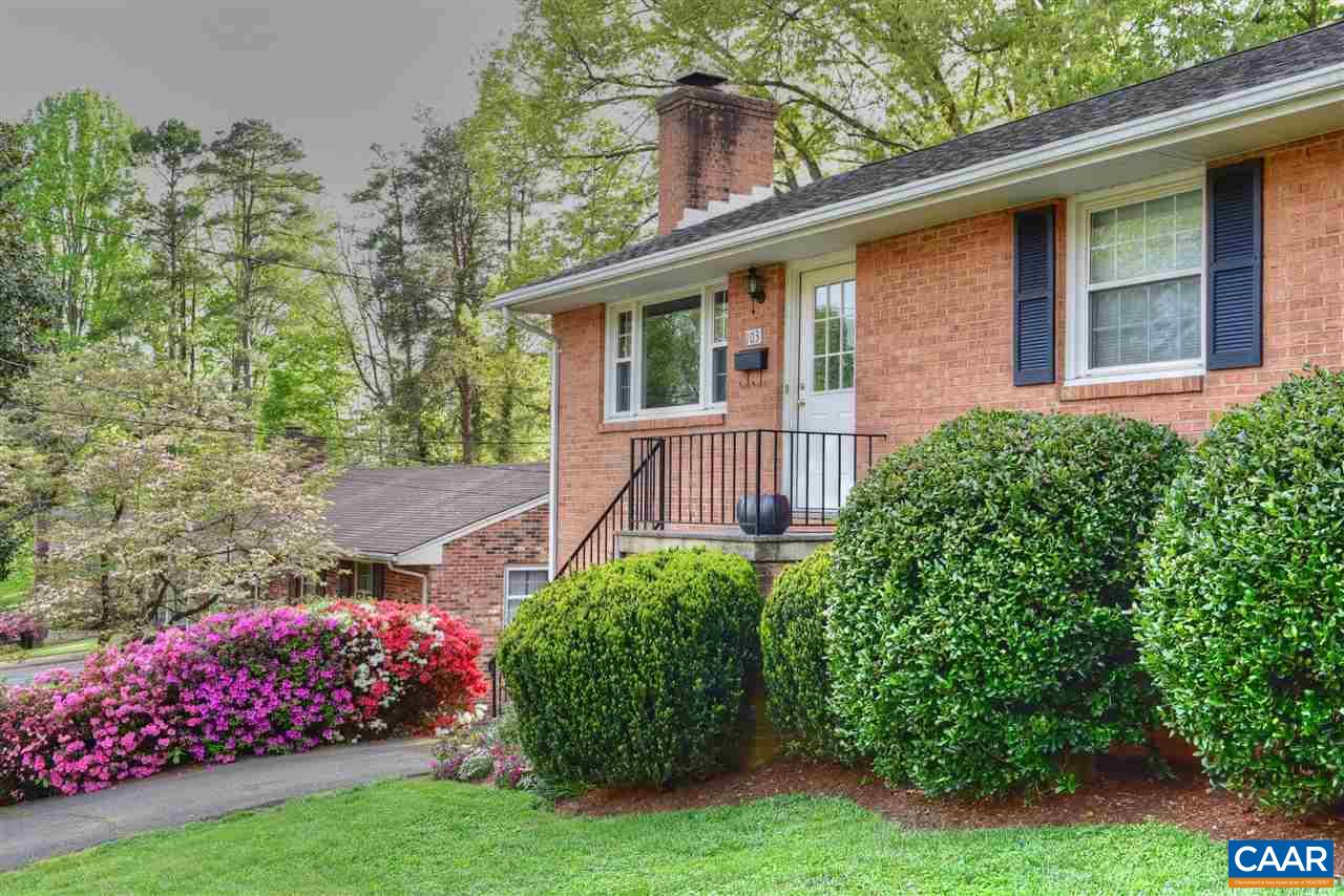 OPEN SATURDAY 4/27 1:30-4 Lovingly renovated home in a great location in a quiet neighborhood on a cul-de-sac near UVA grounds and hospital. Five minutes from Downtown and even shorter to new 5th Street Station shopping center. Within walking distance of Azalea Park. Gleaming hardwood floors. New Roof 2007, Replacement Double Hung Windows, 2007. Updated bathrooms and kitchen. Fully finished basement with versatile bonus room in basement can be used as fourth bedroom or office. Waterproofed basement w/warranty 2013. All new stainless steel appliances. Full of natural light. Slate patio with brick BBQ in a nearly level fenced yard, new shed and swing set. Ideal for hosting gatherings and family time. TING fiber cable internet