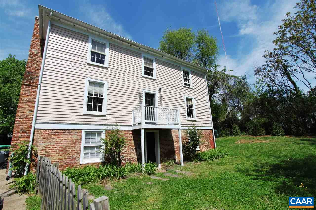 Own a piece of Charlottesville's history with this tastefully renovated home combining old charm with modern conveniences. Located within minutes of Main Street shops and restaurants, the downtown mall and UVA makes its a ideal spot. Easy to convert to a single family home or use the downstairs as a separate apartment. It is nestled on a double lot and has wide plank floors and 3 fireplaces.