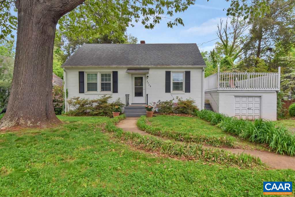 Charming cottage in desirable Fry's Spring. Fabulous yard! Great investment opportunity-leased through June 2020. Walking distance to the Fry's Spring Beach Club and minutes from UVA/downtown mall.