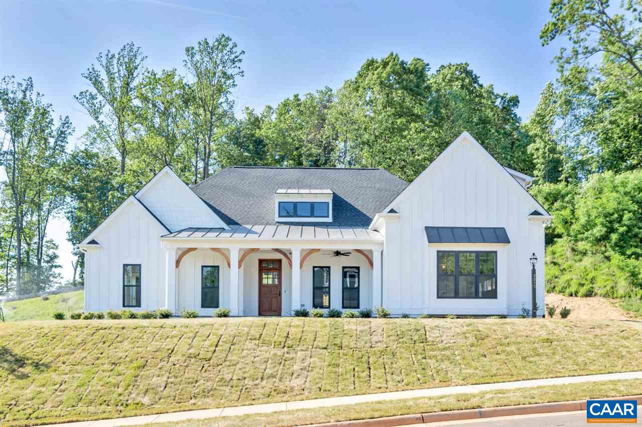 """New Construction Home- This One Level Living Newport is to be built in Westlake at Foothill Crossing. Finished bonus room/bath included! The community offers half acre homesites near downtown Crozet with Mountain Views.  This homesite offers a large backyard. Quality built with 2x6 exterior walls, custom mahogany front door, R-19 insulation, and 5"""" plank hardwood.  Kitchen includes painted maple cabinetry (white, grey, etc shaker style), granite countertops (also in owner's suite), and much more. This is one of many floor plans to choose from.  Want to make a change to the plans?  On staff draftsmen can adjust the plans to make the home just right for each buyer. Photos are of model home."""