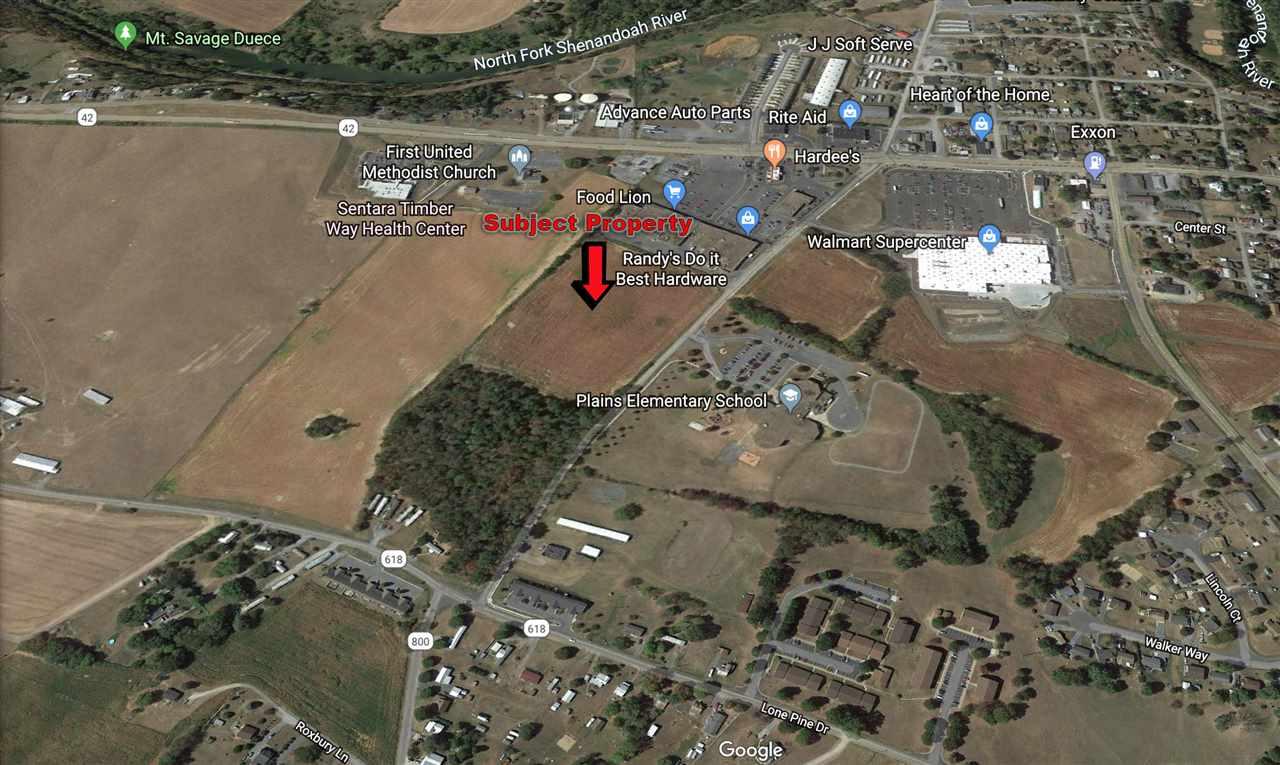 19.1 acres AMERICAN LEGION DR, TIMBERVILLE, VA 22853