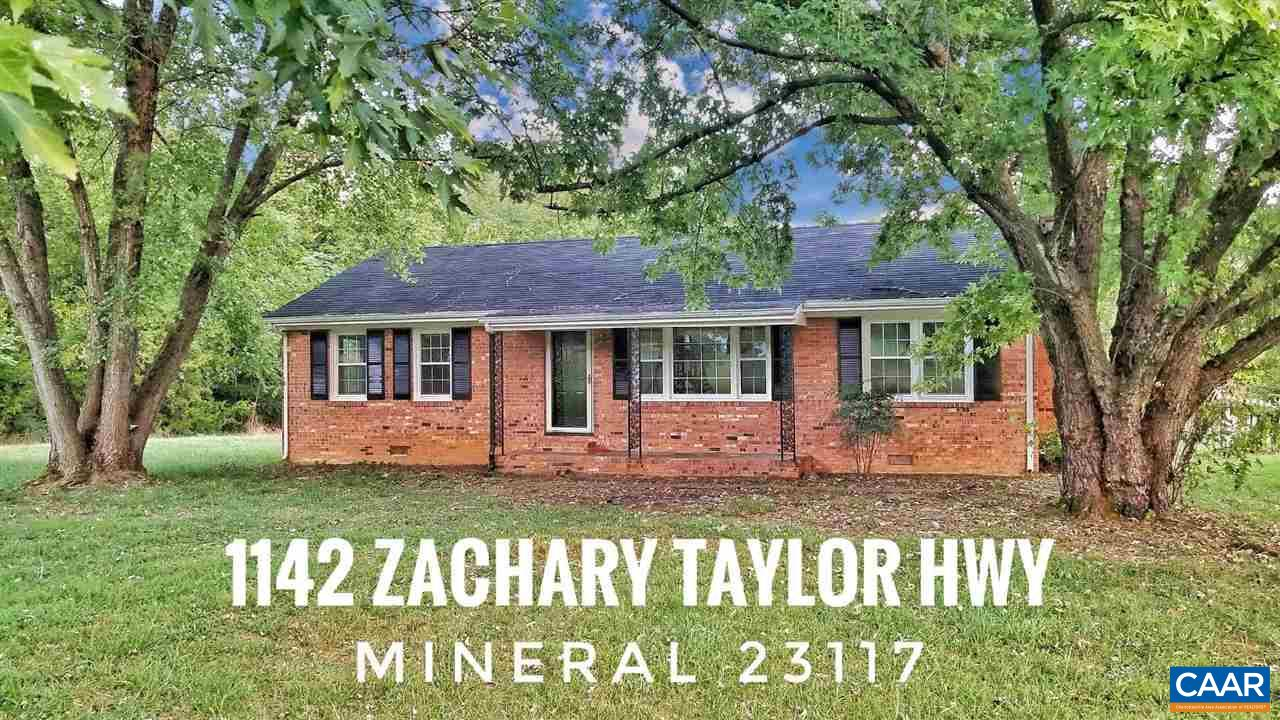 1142 ZACHARY TAYLOR HIGHWAY, MINERAL, VA 23117