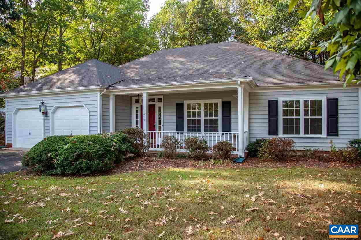 Ranch home in Forest Lakes South. Fantastic floor plan has a great room with vaulted ceiling. New HVAC in 2018. Freshly painted and new carpet. Gas fireplace, large sun room, spacious breakfast room next to the kitchen. Laundry / mud room from the two-car garage.  Kitchen island with lots of cabinets. South pool is across the street. Minutes to the Forest Lakes shopping center, schools, and medical facilities.