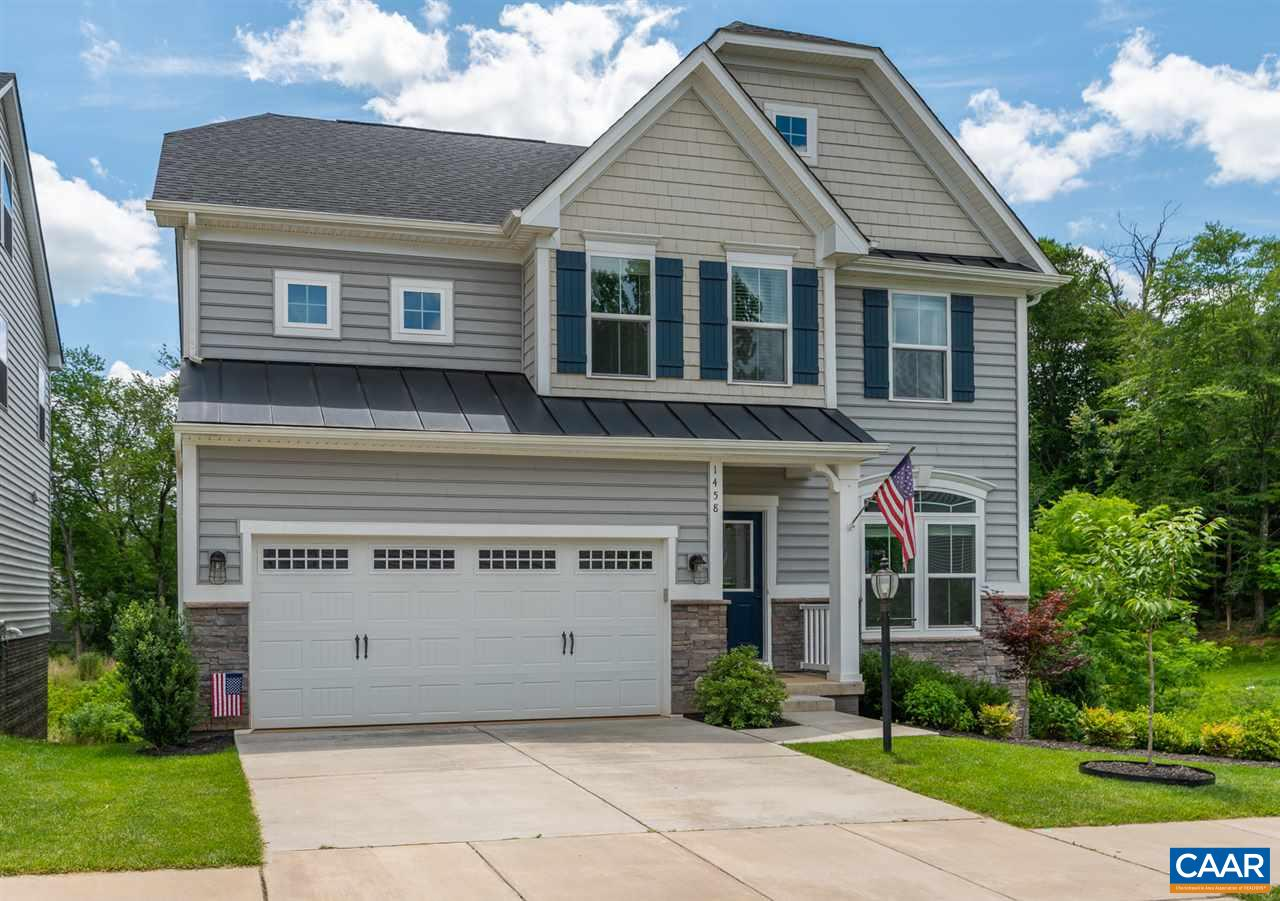 Premium lot! Beautiful move in ready craftsman style home situated in the Forest Lakes-Forest Grove neighborhood. Home has light filled walkout basement, hardwood floors throughout and several improvements to include built-in mud room storage off of the kitchen, built-in window bench and wainscoting in upstairs bedroom, custom lighting, and more. Walk outside to the trex deck that overlooks arbor lake, and escape the sun under the deck on the concrete patio with stone sitting wall. Home comes wired for an invisible dog fence as well as an installed ADT alarm system. All appliances are energy efficient! Tankless Water Heater. Built in 2016 and in pristine condition!