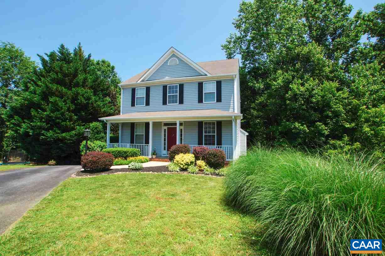 Summertime and the livin' is easy at Forest Lakes North! Enjoy miles of walking trails, tennis courts w/pro shop, swimming pools, lakes and soccer fields all just blocks from your new front door! This immaculately kept home is located on quiet cul-de-sac with private, partly wooded back yard. Open floor plan makes for an easy flow for entertaining or everyday life. Gleaming hardwood floors and vaulted foyer welcome you into this beautiful home. Attention to detail with chair molding, large windows, ceiling fans, privacy doors to den/office and fixture upgrades. Master bedroom is generous in size with plenty of space for sitting area, walk in closet and spa inspired bathroom with slow close cabinetry. Mins to area shopping/dining/airport.