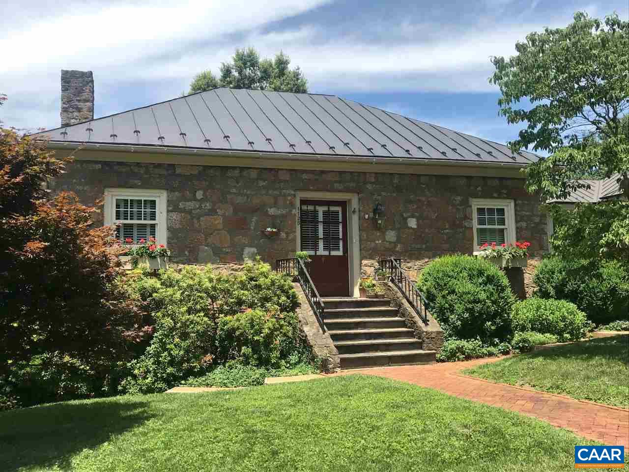 Charming, one of a kind stone home in sought after Ednam subdivision. Completely renovated in 1982 and added on to in 2006, this home has been beautifully maintained. The present owner has carefully landscaped the yard which enhances the English cottage feel, to create a beautiful, inviting home close to Farmington, UVA, Boar's Head In & Sports Club, medical facilities, and shopping.
