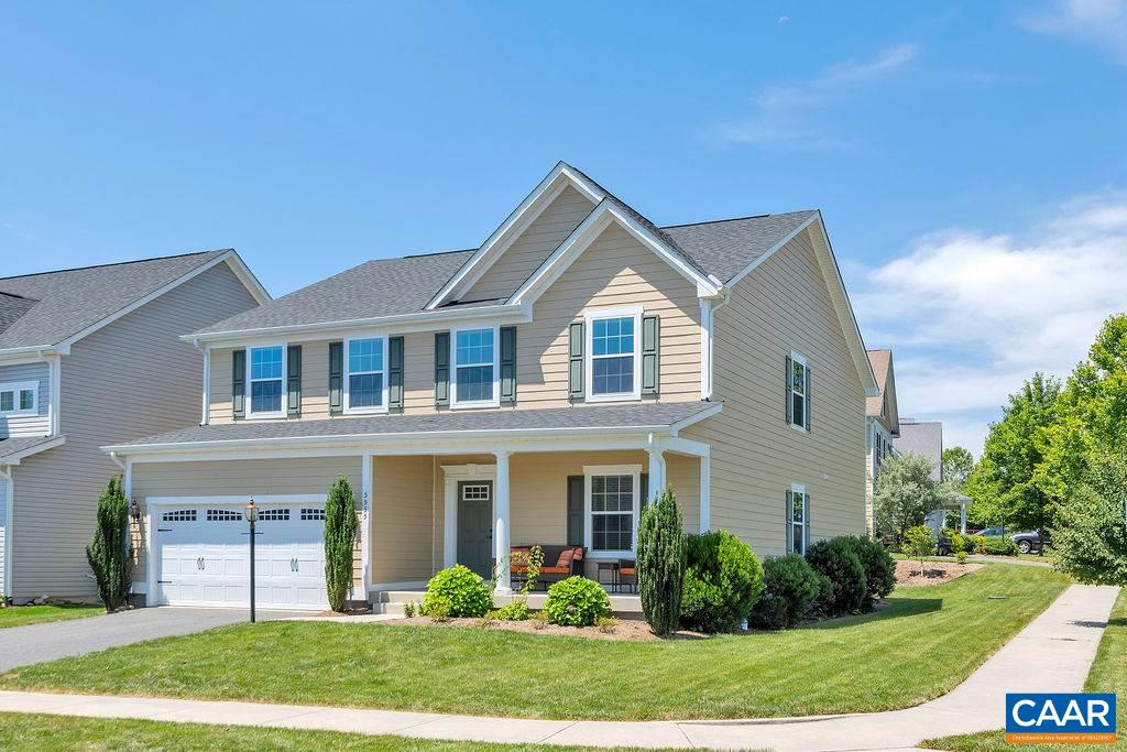 OPEN SUNDAY, JULY 20 from 1 to 3 pm! NEW PRICE! Incredible Value in Desirable Crozet neighborhood! Lots of room to spread out in this corner lot home in Westhall. Main level is home to open concept kitchen & family room, tucked away home office, dining room and multi-purpose room, plus half bath. Three large bedrooms, two full baths, loft space, laundry, and a very spacious and beautiful master bedroom w/en suite round out 2nd floor. Finished basement rec room with half bath is great for entertaining and also offers a good amount of space for additional storage. Walk to nearby playground, bike to Claudius Crozet pool or the library. Energy efficient home!