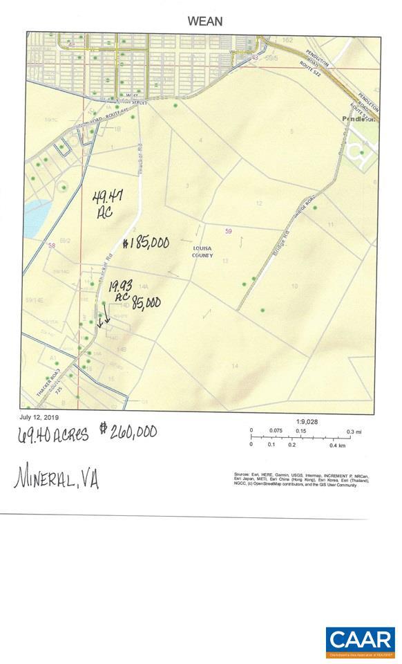 001 KENNON RD, MINERAL, VA 23117