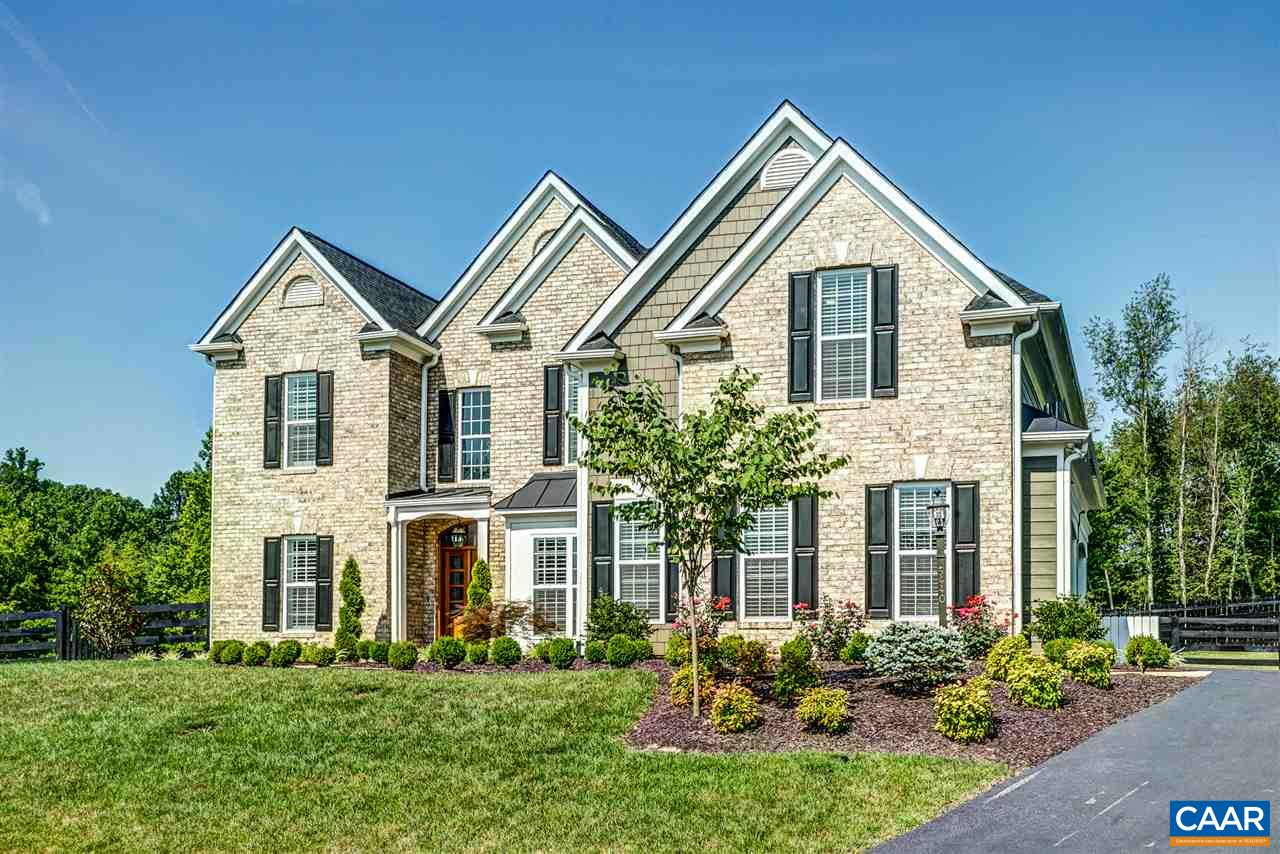 Exquisite 5 bedroom 5 1/2 bath home in picturesque location in western Albemarle-Foothill Crossing