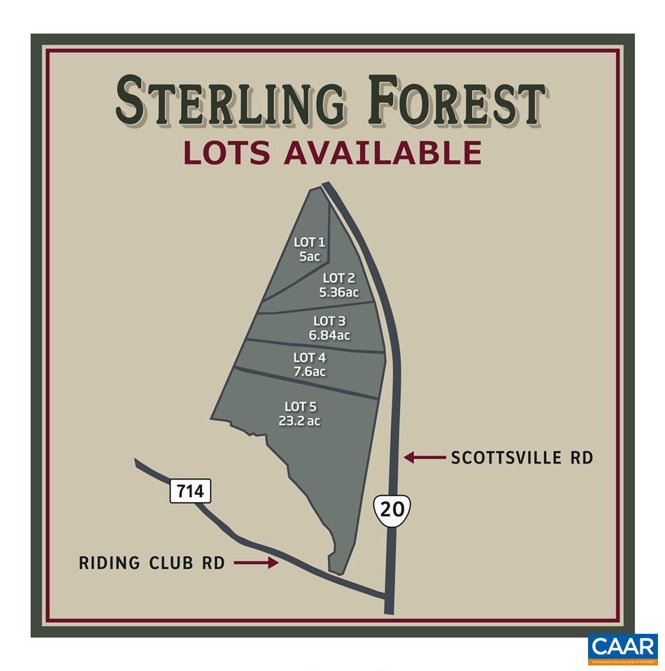 0 SCOTTSVILLE RD Lot 1, KEENE, VA 22946
