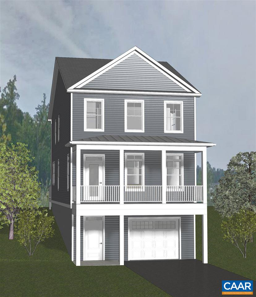 PRESALE 2020 Delivery. Huntley. An established community in the City featuring walkability, easy access to all things Cville, UVA and I-64. To be built. The Belmont featuring 2 story living on a basement and open floor plan on the main level. Three bedrooms and two baths upstairs. This price includes this stylish traditional exterior, hardwood flooring, granite counters, stainless appliances, and ceramic tile in both baths. Ask about our Eco-Smart approach to energy efficiency and comfort via insulation and equipment verified w/ third party HERS Score. Enjoy choosing your finishes with the assistance of our team in our convenient design center. Additional floor plans and lots available. Multiple elevations available.