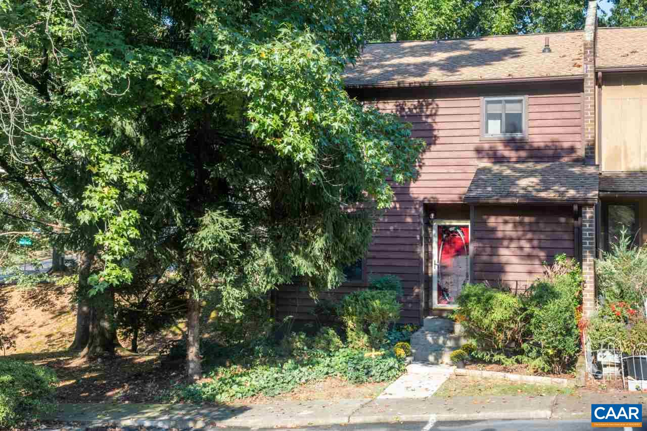 OPEN HOUSE 10/20 1-4 PM! PERFECT LOCATION To All Charlottesville Has To Offer!MOVE-IN Ready, Tastefully Renovated End-Unit Townhome o/Basement Will Charm You w/Many Great Features~Welcoming Front Foyer Opens To A Well Appointed Floor Plan w/3 BR's & 2.5 Baths~Newly Refinished Floors, Fully Renovated Kitchen w/Ample Cabinets, New Counters, New Flooring, Newer Appliances, Breakfast Bar, 1/2 Bath~Great Dining & Living Rm w/Access To Large Private Rear Deck, Gas FP~Nicely Sized Bedrooms on 2nd Floor & Full Baths. Basement Offers Plenty Of Storage, Ready For Future Expansion w/Bath R/In, Access To Private Backyard, A Quiet Space, w/Many Mature Trees & Landscape. 2 Assigned Parking Spots Close To Front Door & MUCH MORE!