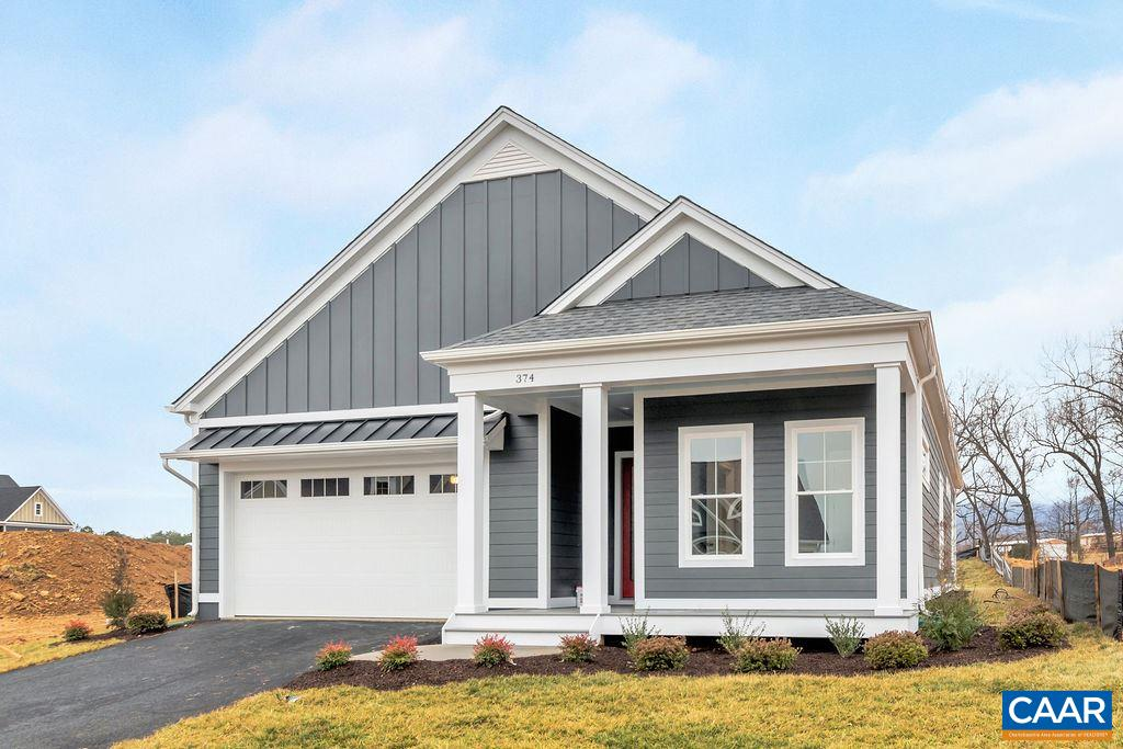 "DUNLORA PARK is located minutes to Downtown and UVA.  This is a rare find for new construction this close to Charlottesville with complete rear privacy backing to woods.  This location is great for walking on the John Warner Parkway trail down to McIntire Park and the new ""Center"" will be located right around the corner.   Photos are and example of Evergreen quality and may very from build specifications"