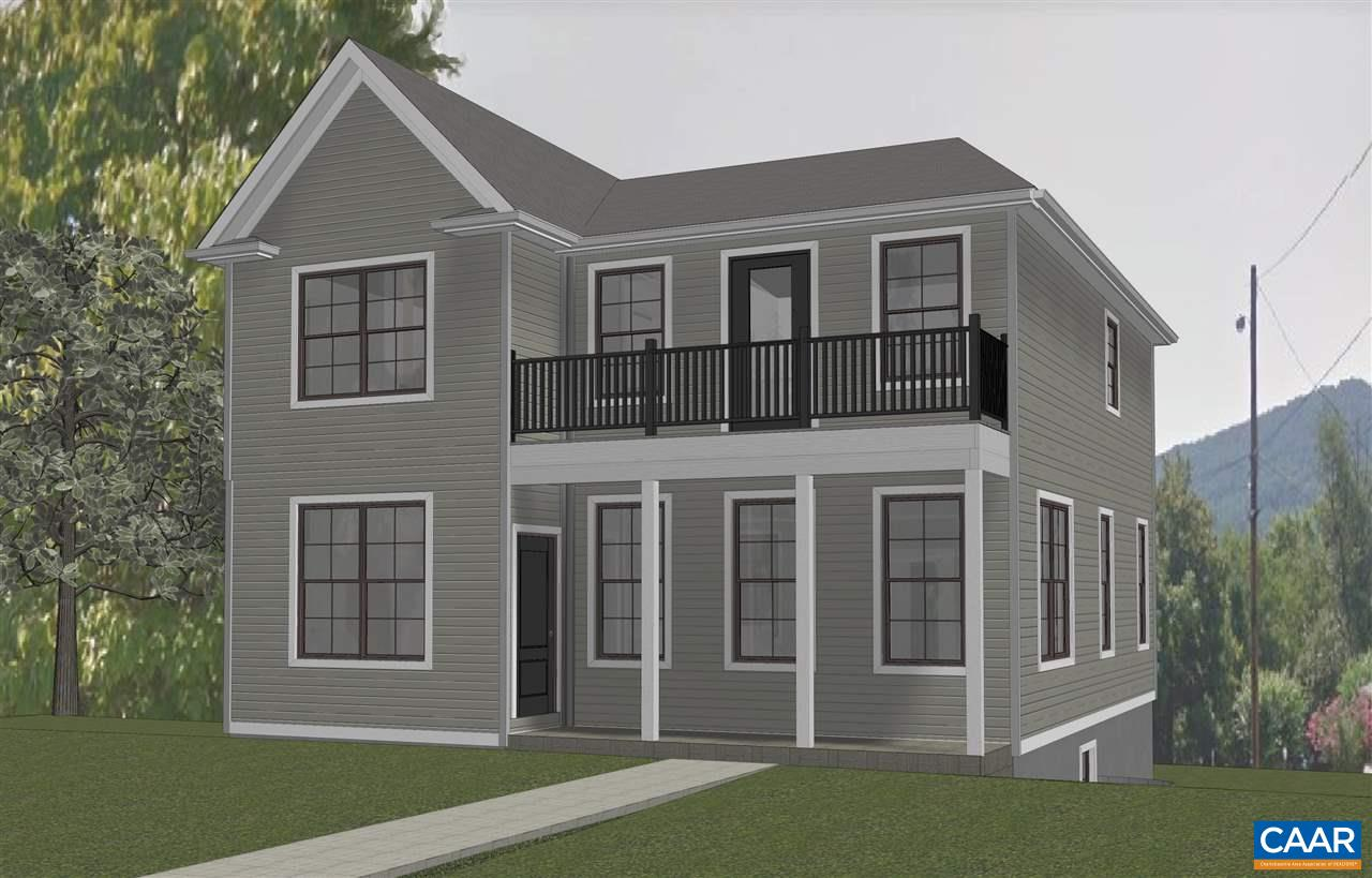 Huntley.Last lot! An established community in the City featuring walk-ability, easy access to all things Cville, UVA, and I-64. The Meridian features two story living and open floor plan on the main level with three bedrooms and two baths upstairs. List price includes traditional exterior, hardwood flooring, granite counters, stainless appliances, ceramic tile in both baths, front & rear trex decking. Our Eco-Smart approach to energy efficiency and comfort via Green Features verified with third party HERS Score.  Personalize your finishes in our convenient Design Center. Additional floor plans and lots available. Similar photos.