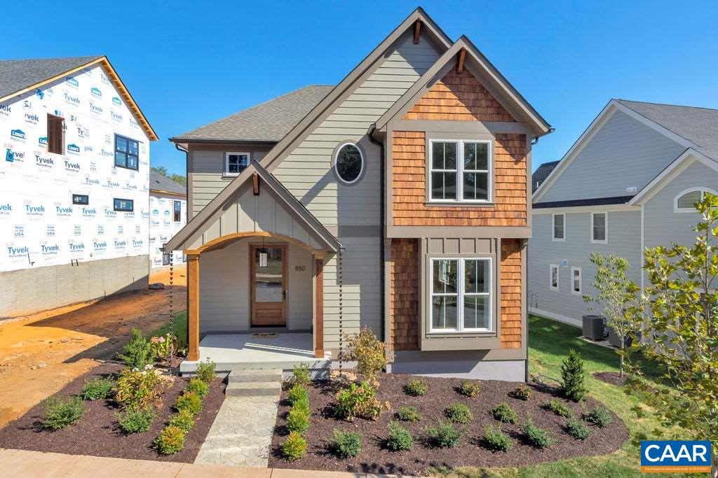 OPEN SAT 2/29 1-3PM. Lochlyn Hill, a planned, walkable community in the City limits. Complete & ready to occupy, this home by local builder features quality craftsmanship & exceptional energy efficiency. Master suite and 3 bedrooms up plus laundry. Details like finish in place oak floors, heavy trim package, custom built ins, solid doors, ceramic floors and showers, custom kitchen cabinetry, granite & stainless appliances. Energy efficiency through designed HVAC & ductwork, tankless water heater, ERV and more. Pearl Certified. All the right spaces including mud room, large pantry, large closets, open floor plan & rear porch plus detached rear load 2 car garage. Actual photos. HERS 57.